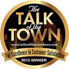 The Talk of the Town 2015 Winner